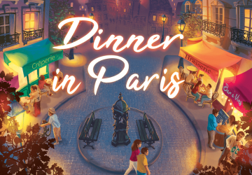 Dinner in Paris - Test jeu de société - Akoa Tujou